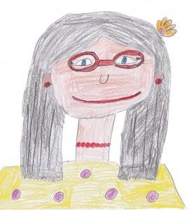 Frau Wilke gemalt von Teotila