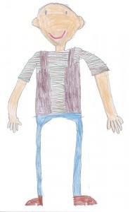 Herr Willems gemalt von Dominik