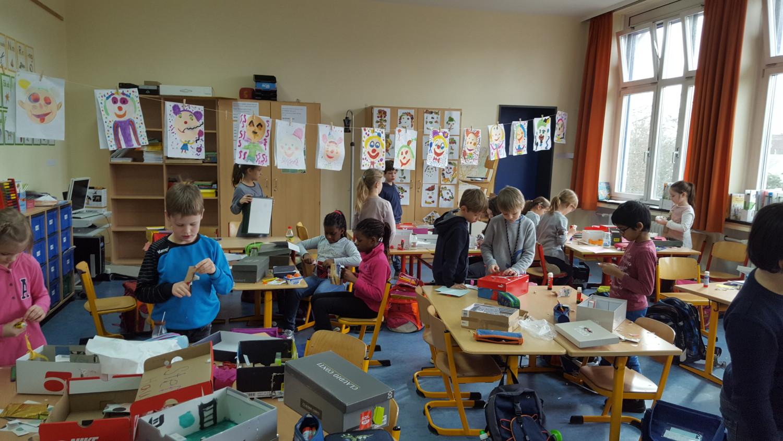 Zimmer im Schuhkarton – St. Franziskus Schule